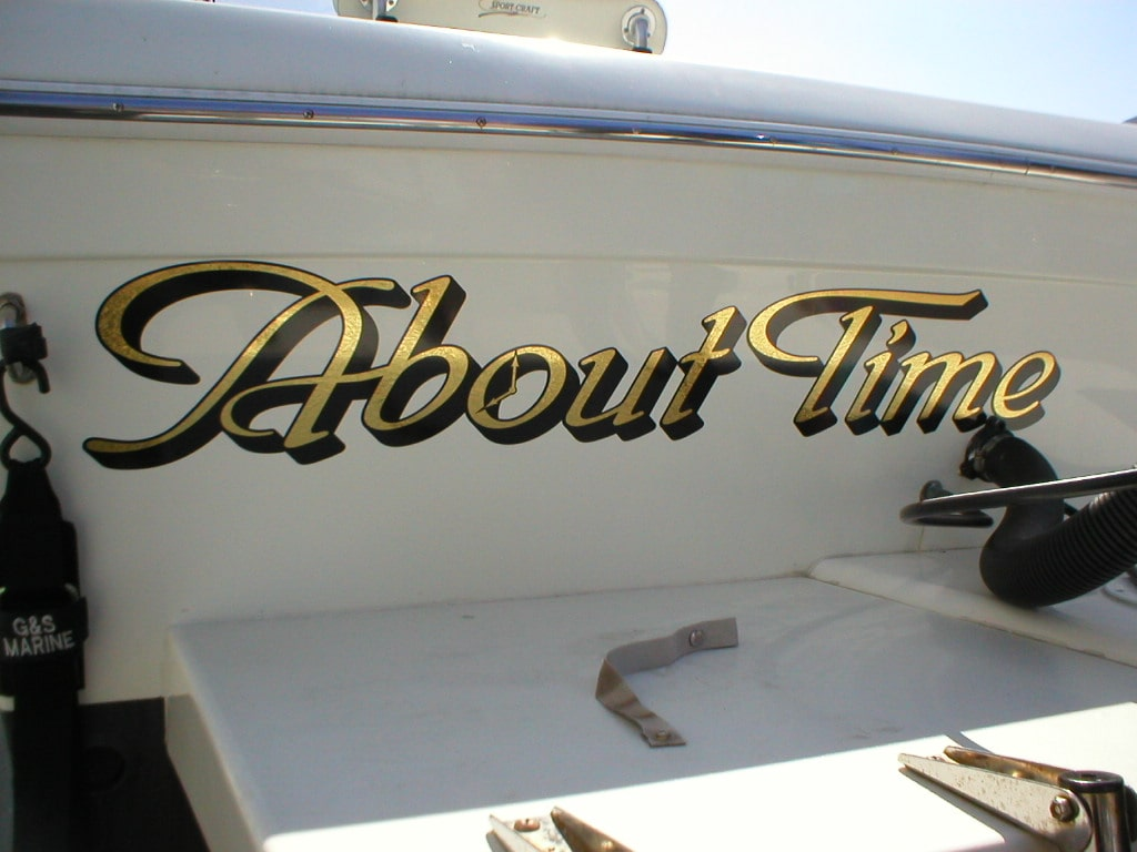 boat lettering and boat graphics crivello signs inc With boat lettering and graphics