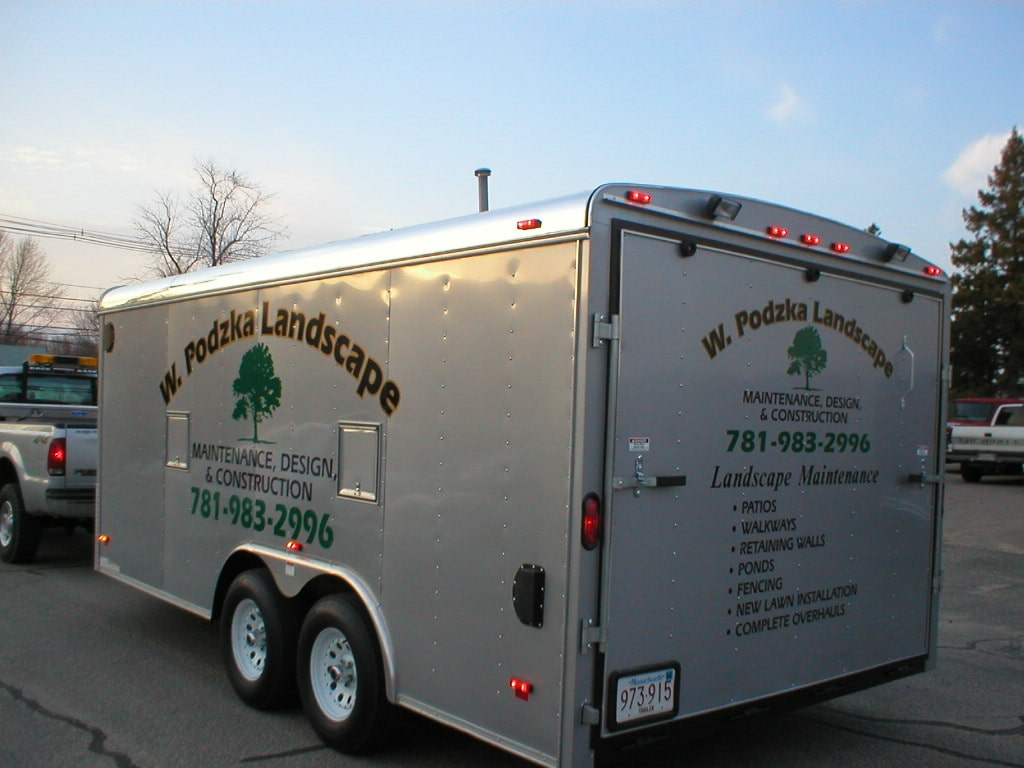 Trailer Lettering And Trailer Graphics Crivello Signs
