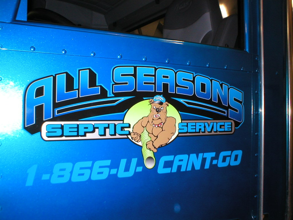 Truck lettering and truck graphics crivello signs inc for Big truck lettering