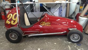 Half Midget Race Car