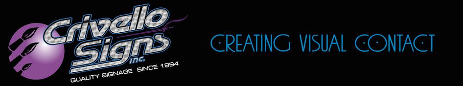 Crivello Signs, Inc. >> 508-660-1271 logo